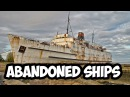 Abandoned ships all over the world Ferries Ocean Liners Cruise Ships Hovercraft