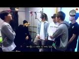 BANGTAN BOMB Recording I NEED U chorus in BTS choir