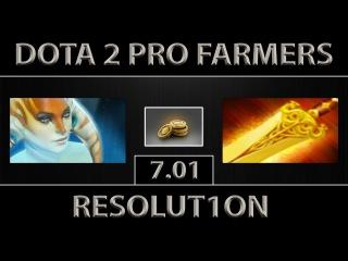 Resolut1on Naga Siren Fast Farm ► Reso-GOD ► Dota 2 [7.01]
