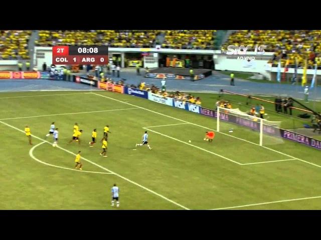 Lionel Messi vs Colombia (World Cup Qualifier) 11-12 HD 720p By LionelMessi10i