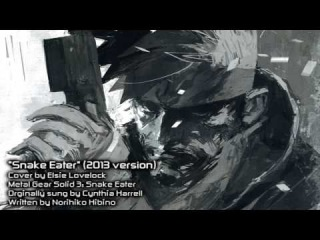 Snake Eater - Metal Gear Solid - cover by Elsie Lovelock