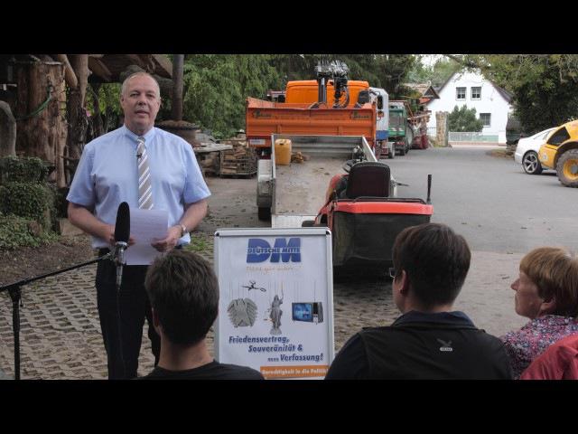 Unterwanderung und Sabotage Christoph Hörstel in Thüringen 23 5 2017