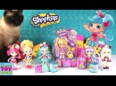 Pam Cake Shopkins Shoppies Doll Food Fair Season 2 5 Opening Toy Review | PSToyReviews