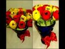 Весенний Букет Тюльпанов. Канзаши