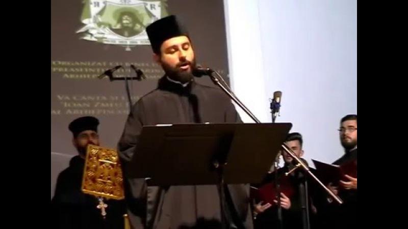 Nikodimos Kabarnos « Christos a înviat din morţi » la Râmnicu Vâlcea, în greacă şi română…