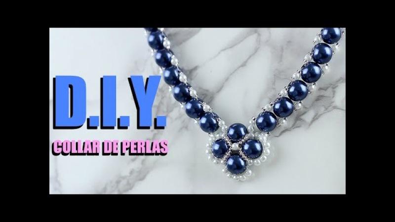 DIY COLLAR DE PERLAS PARA MAMÁ! DIY Pearl Necklace!