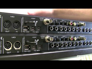 RME Fireface 800: Build a setup with two interfaces