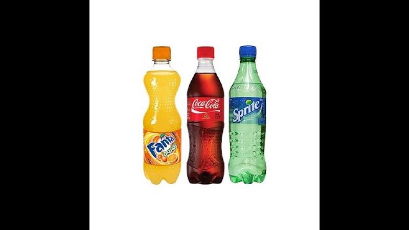 ДЕЛАЕМ ЖЕЛЕ ИЗ COCA-COLA, FANTA, Sprite | ЖЕЛЕЙНАЯ Coca-Cola