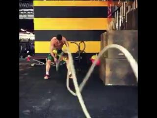 Тренировка Мурада Нукхадиева