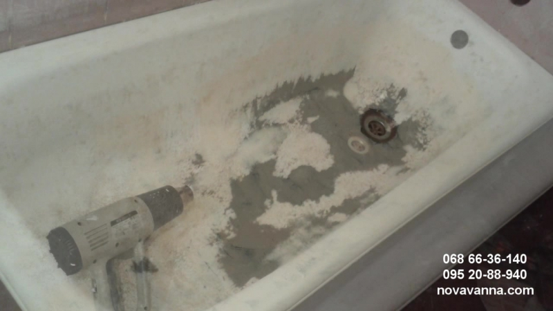 Емаліровка ванн в Змієві, Вовчанську, Дергачах