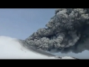 848 Вулкан. Извержение. 248 лет сна. Россия, Камчатка, вулкан  Камбальный. 24 марта 2017.