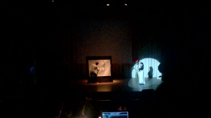 Жена Танцует, Кукса Рисует
