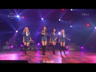 [VIDEO]160902 MAMAOO 1cm (Band ver.) @«Yoo Hee Yeol's Sketchbook»/