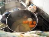 Как приготовить рыбный суп для детей؟Рыбный суп. Детское меню.