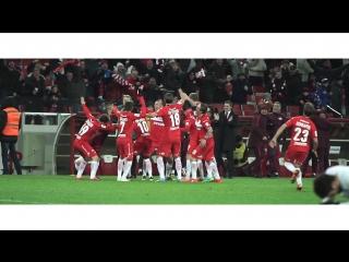 Победный гол Дениса Глушакова в ворота