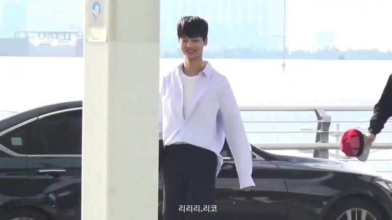 [Fancam] 170304 VIXX N @ Incheon Airport to Taiwan