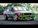 STREET DRIFT BMW e30 coupe m50 B25 turbo