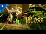 Moss for PS VR - Live Interview  E3 2017
