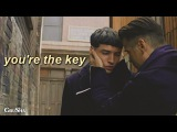 credence & graves || you are the key