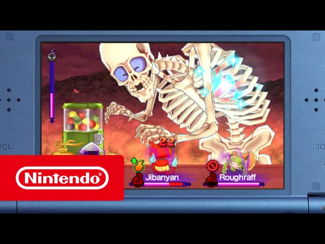 N3DS - Yo-kai Watch 2 (Yo-kai Watch 2: Bony Spirits Yo-kai Watch 2: Fleshy Souls)