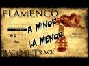 Flamenco Rumba Spanish Backing Track Am G F E fast