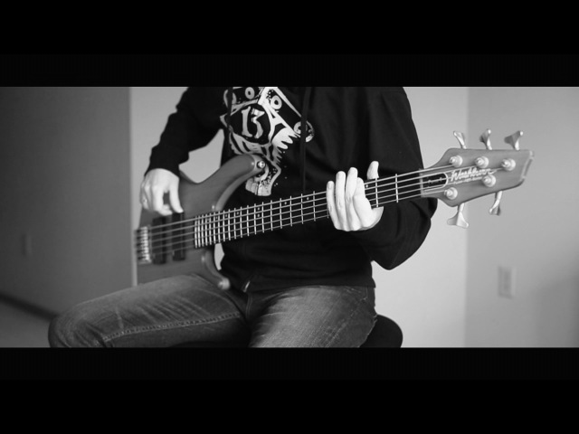 Korn - Rotting in Vain (guitar bass cover)