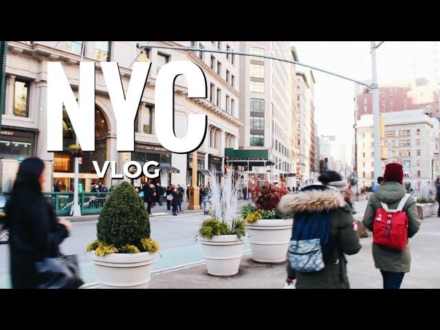 NYC VLOG 🌷 Spring Break UNPLANNED MEETING W BESTIE