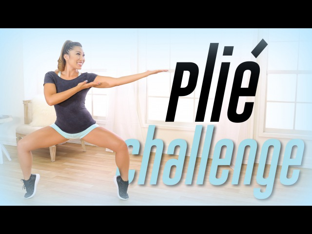Plie Squat Challenge! | Best Thigh Workout