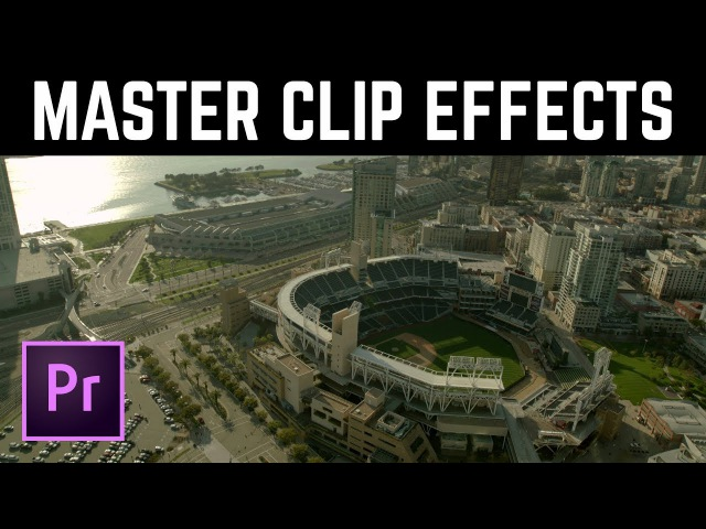 Global POWER of Master Clip Effect in Premiere Pro