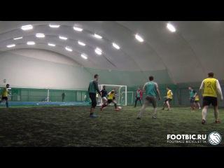 FOOTBIC.RU. Видеообзор 17.02.2017 (Метро Марьина Роща). Любительский футбол