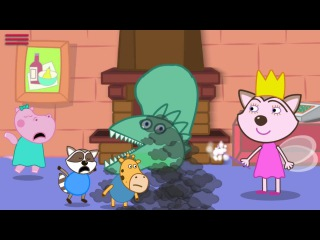 Hippo Peppa Games | Best Apps For Toddlers | Three Little Pigs with Baby Hippo and her Friends