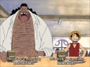 One Piece - Luffy Blackbeard meet at Mock Town