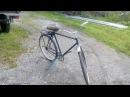 Реставрация велосипеда Урал. Часть 1. Как уменьшить тормозной путь на велосипеде