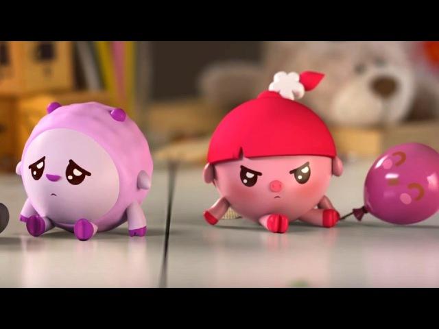 Малышарики - Обучающий мультик для малышей - Все серии подряд - Играем вместе с малышариками 🙈⚽🏎