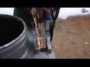 Комбо Ферро насадка на болгарку - обработка внутреннего сварного шва в прямоугольном отверстии
