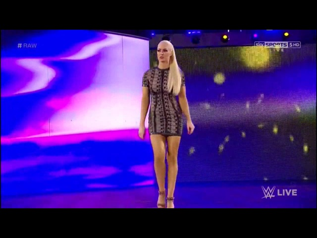 720pHD WWE RAW 06/19/17 Maryse Entrance To The Ring ( Maryse theme song )