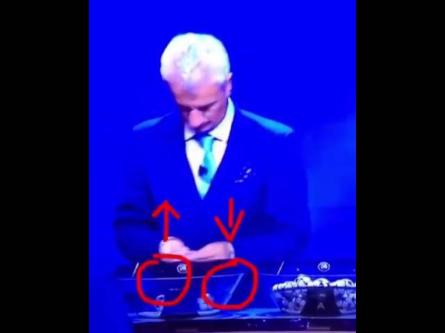 UEFA Champions League draw scandal, Ian Rush (25/08/2016)