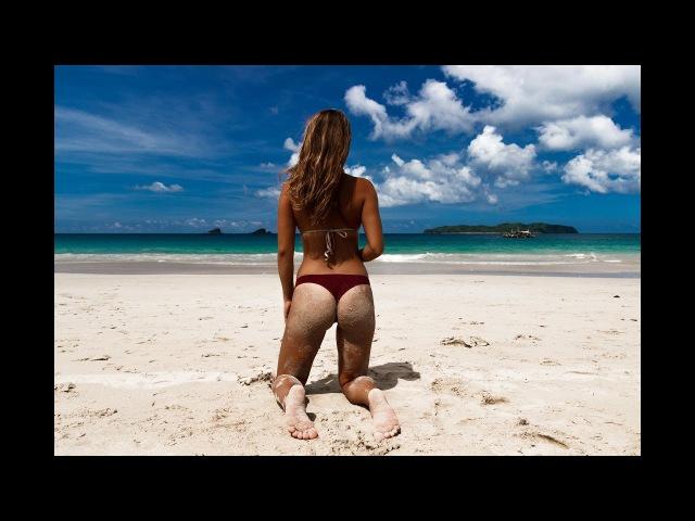 PARADISE BEACH IN EL NIDO, PALAWAN - NACPAN BEACH - PHILIPPINES TRAVEL