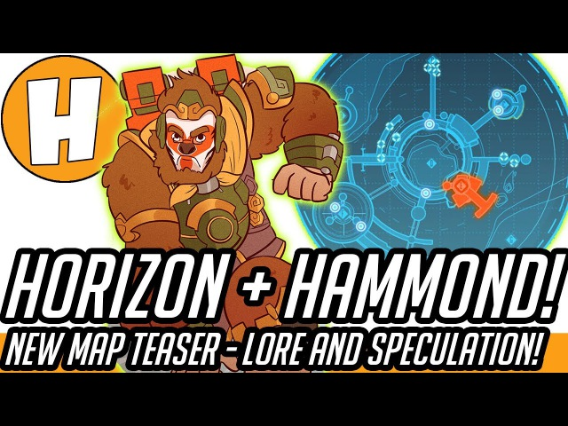 Overwatch - Hammond Horizon Teaser Lore Analysis! (New Lunar Colony Map AND Hero?)