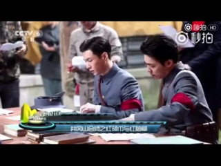 [NEWS VIDEO] 170614 EXO Lay Zhang Yixing  张艺兴 @ CCTV 6 News: ab 'The Founding of an Army'