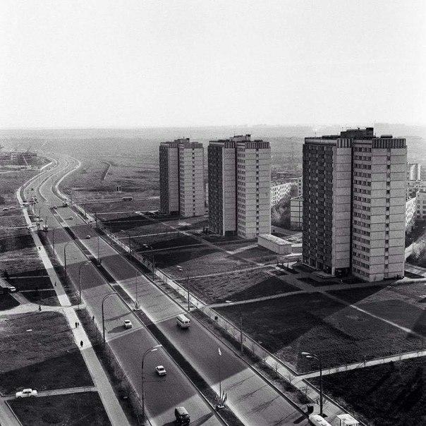 Москва. Пр. Вернадского. 1973 г.