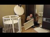 Детская кроватка Трансформер 8 в 1 от Premium Baby - Подробный Разбор