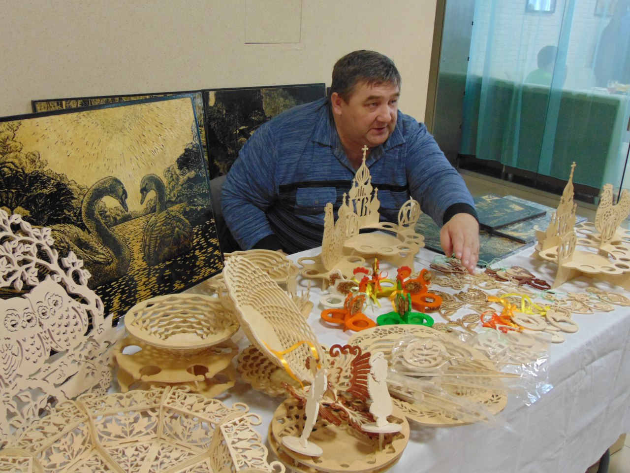 Ярмарка изделий ручной работы прошла в Ялуторовске накануне Пасхи