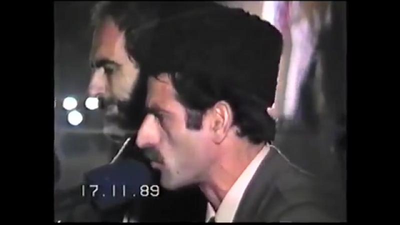 Haqqın şairi Əli Nasir 1989-cü ildə Azadlıq meydanında