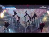 [PERF.] 170428 Выступление первой команды с Boy In Luv – BTS - EP.4 Produce 101 @ Mnet Official