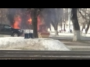 Ст Варя, горит грузовик 25.04.17