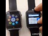 умные часы-телефон A1