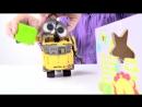 Видео для детей робот ВАЛЛИ и новые друзья! Роботы Игрушки! Wall E