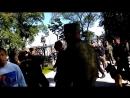 ПОЗОР Ряженые Казаки нагайками избивают людей Владивосток