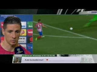Impresiones de Torres tras el derbi de semis de Champions frente al Real Madrid (10-05-17) BeIn Sports
